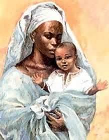 Black Jesus and Mary